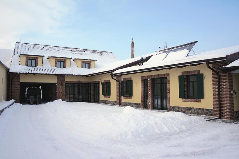 Vidiecky dom Suchá nad Parnou