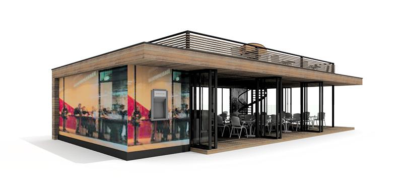 Bar na terase Trnava